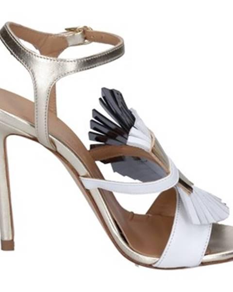 Biele sandále Marc Ellis