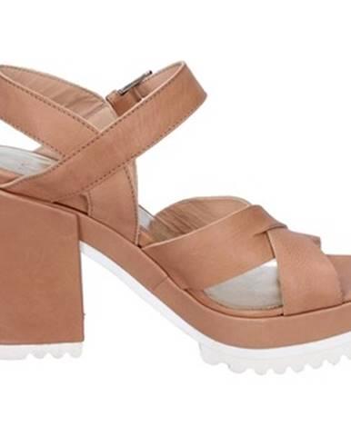 Hnedé sandále Sergio Cimadamore