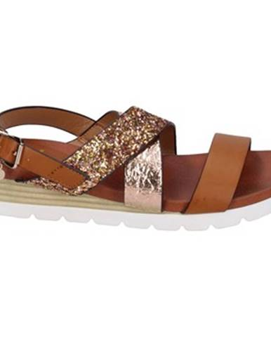 Hnedé sandále Rocco Barocco