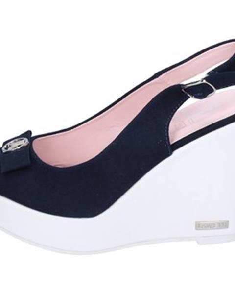 Modré sandále Lancetti