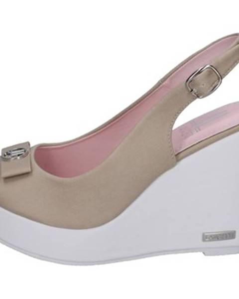 Béžové sandále Lancetti