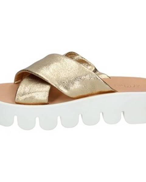 Zlaté topánky Too Mollis