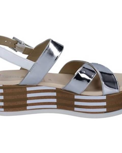 Strieborné sandále Tredy's