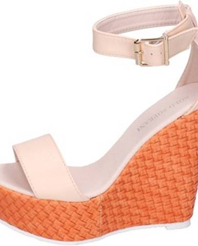Béžové sandále Solo Soprani