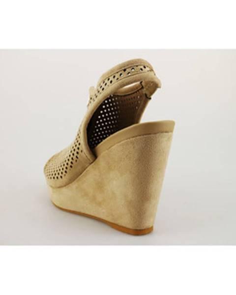 Béžové sandále Francescomilano