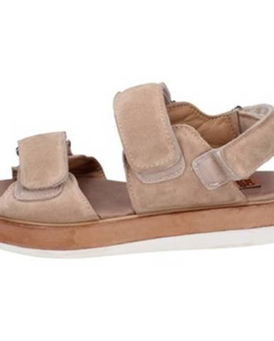 Béžové sandále Moma