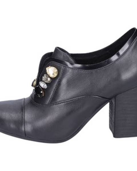Čierne topánky Luca Stefani