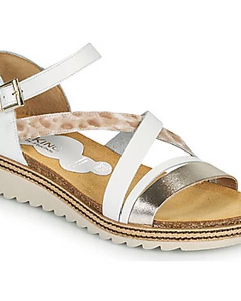 Biele sandále Dorking