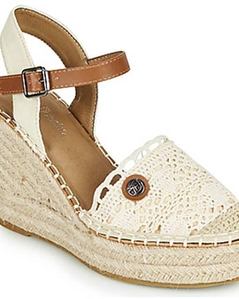 Biele sandále Tom Tailor