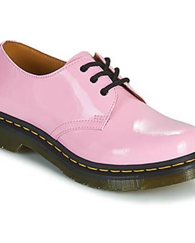 Ružové topánky Dr Martens