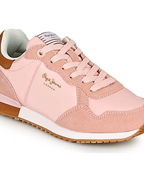 Ružové tenisky Pepe jeans