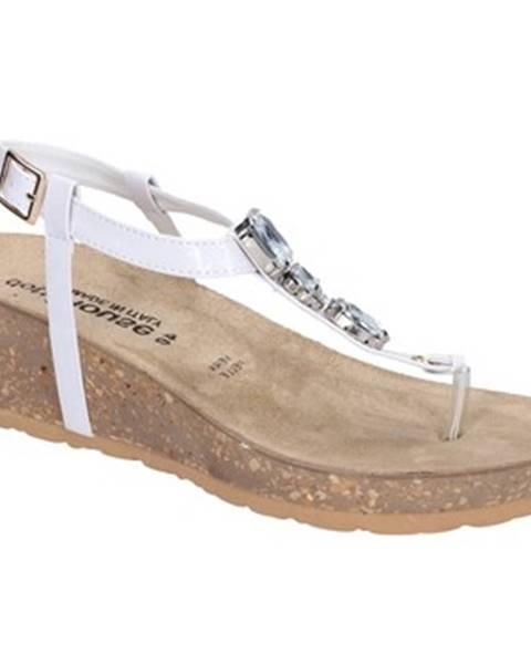 Biele sandále Dott House