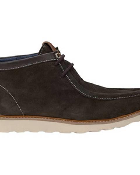 Hnedé topánky Docksteps