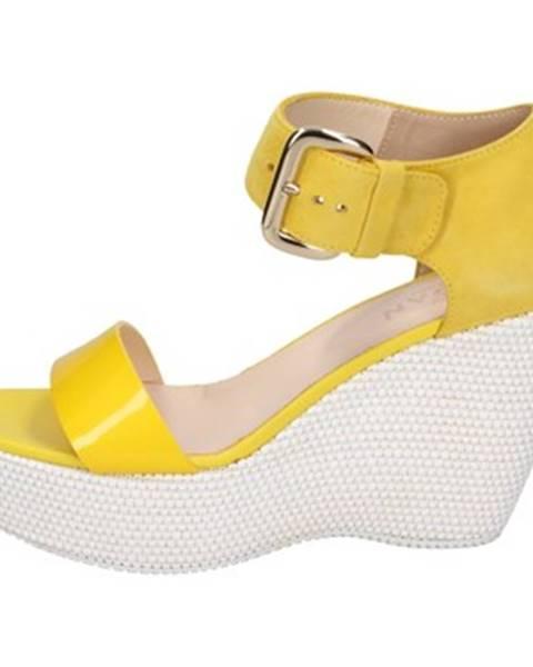 Žlté sandále Hogan