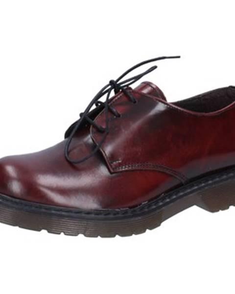 Bordové topánky Olga Rubini