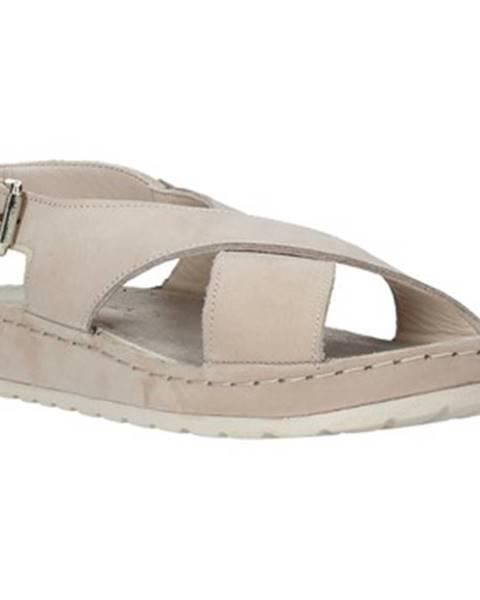 Béžové sandále Lumberjack
