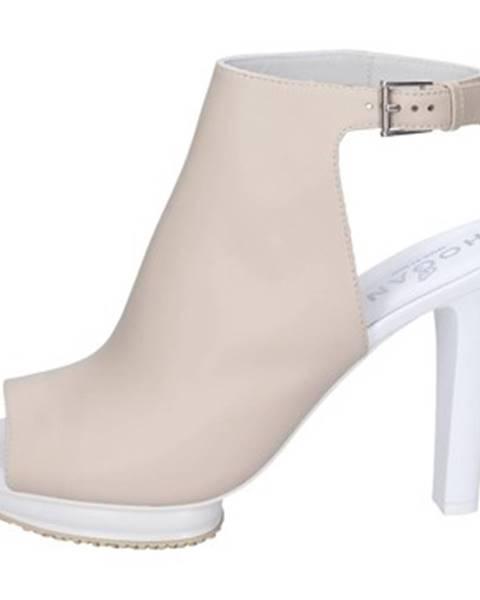 Béžové sandále Hogan