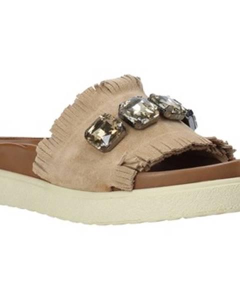 Béžové topánky Bueno Shoes