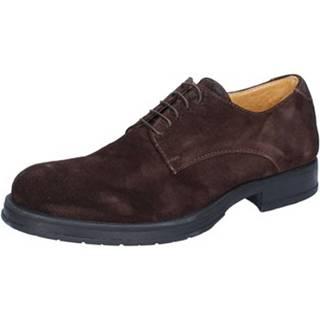 Nízka obuv do mesta Salvo Barone  classiche marrone camoscio BZ164
