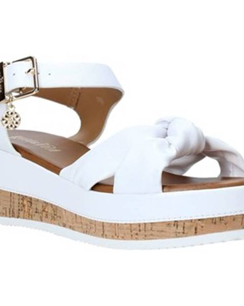 Biele sandále Gold gold