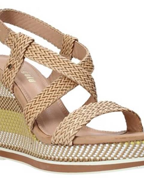 Ružové sandále Gold gold