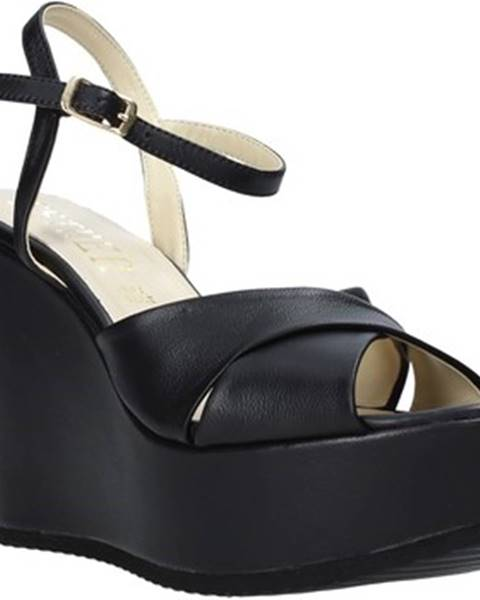 Čierne sandále Esther Collezioni