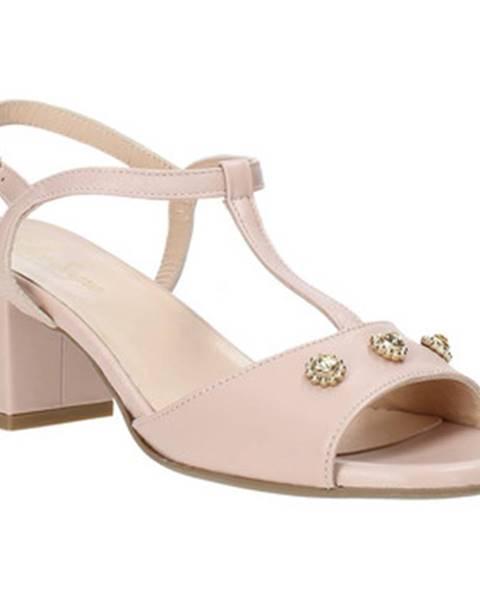 Ružové sandále Soffice Sogno