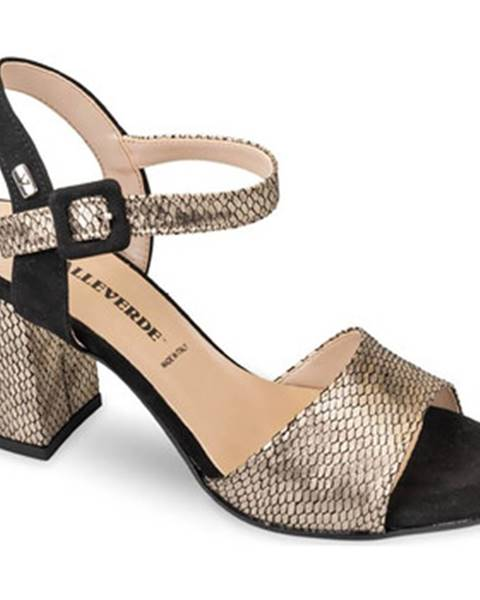 Zlaté sandále Valleverde