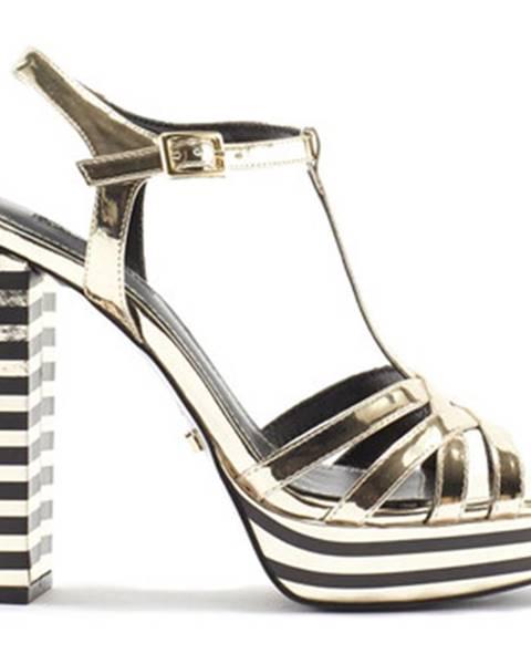 Zlaté sandále Gaudi