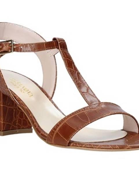 Hnedé sandále Casanova