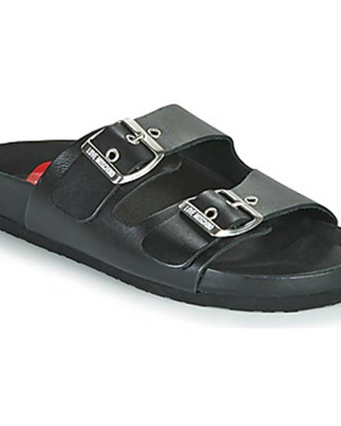 Čierne sandále Love Moschino