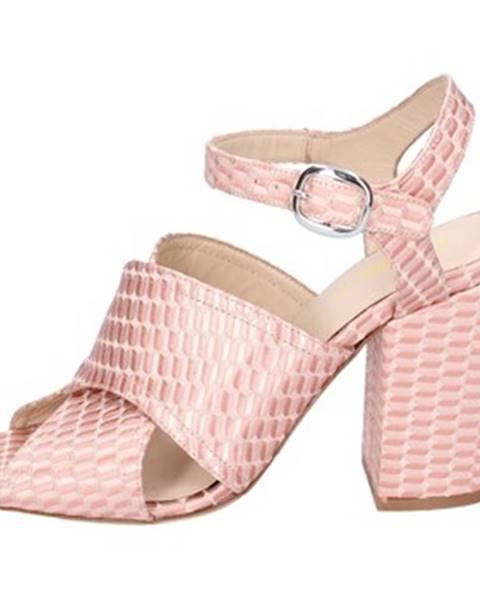 Ružové sandále Elena Iachi