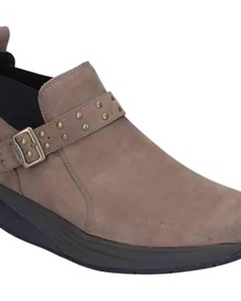 Béžové topánky Mbt