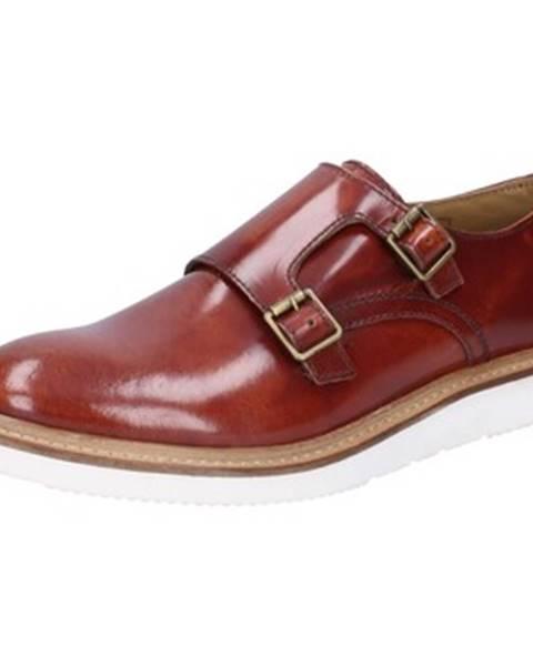 Hnedé topánky Base London