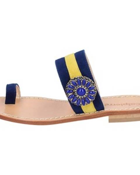 Modré sandále Calpierre