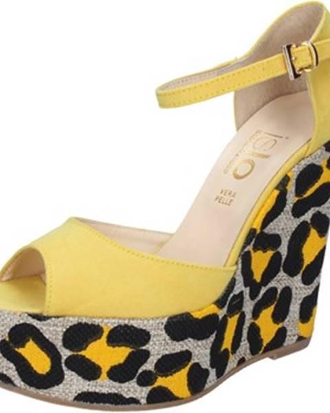 Žlté sandále Islo