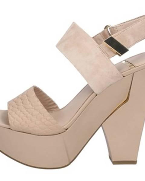 Béžové sandále Marciano