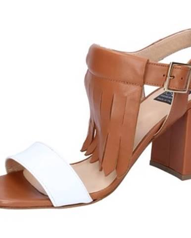 Hnedé sandále Islo