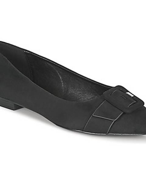 Čierne balerínky Esprit