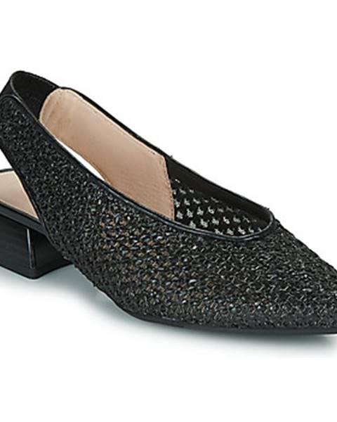 Čierne sandále Hispanitas