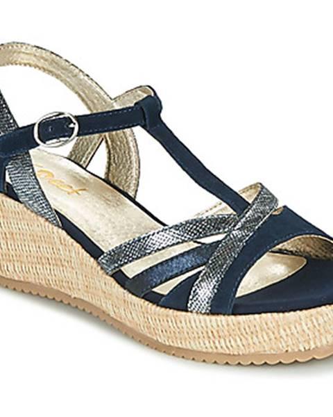 Modré sandále Sweet