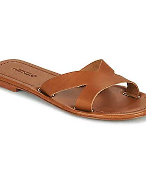 Hnedé topánky Kenzo