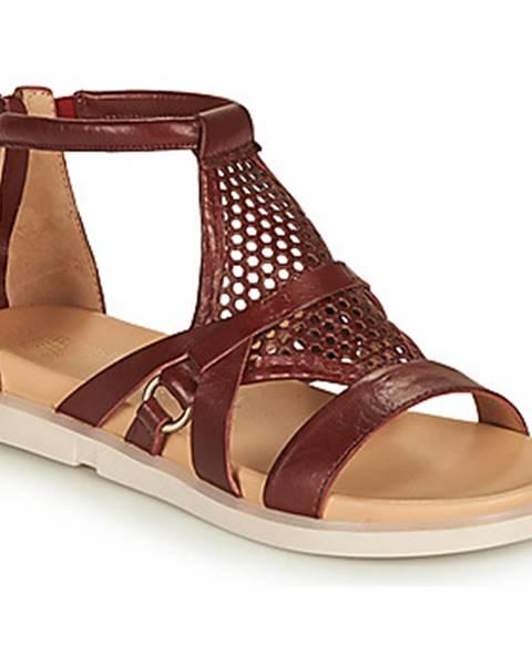 Bordové sandále Mjus