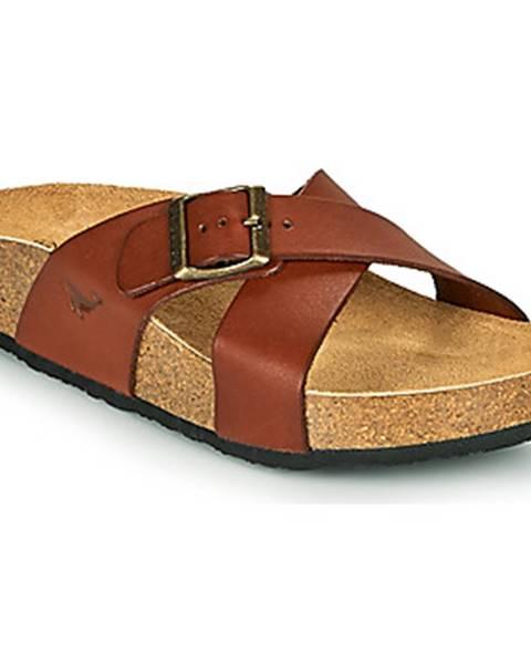 Hnedé topánky Plakton