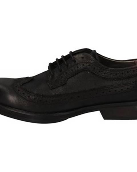 Čierne topánky Crime London