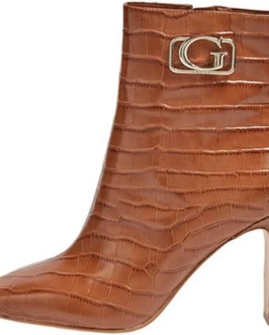 Hnedé topánky Guess