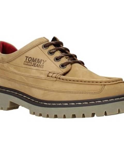Žlté topánky Tommy Jeans