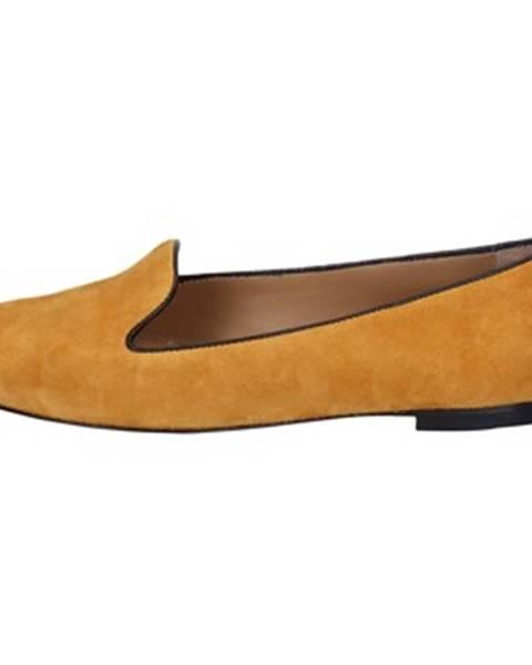 Žlté balerínky Bally Shoes