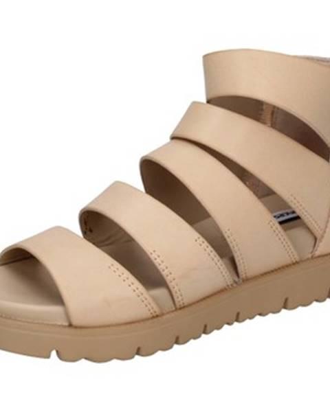 Hnedé sandále Francescomilano