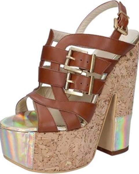 Hnedé sandále G.p.per Noy